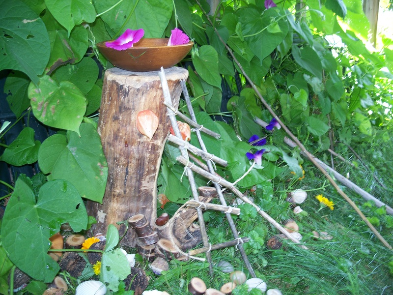 Fairy House at Herb Haven