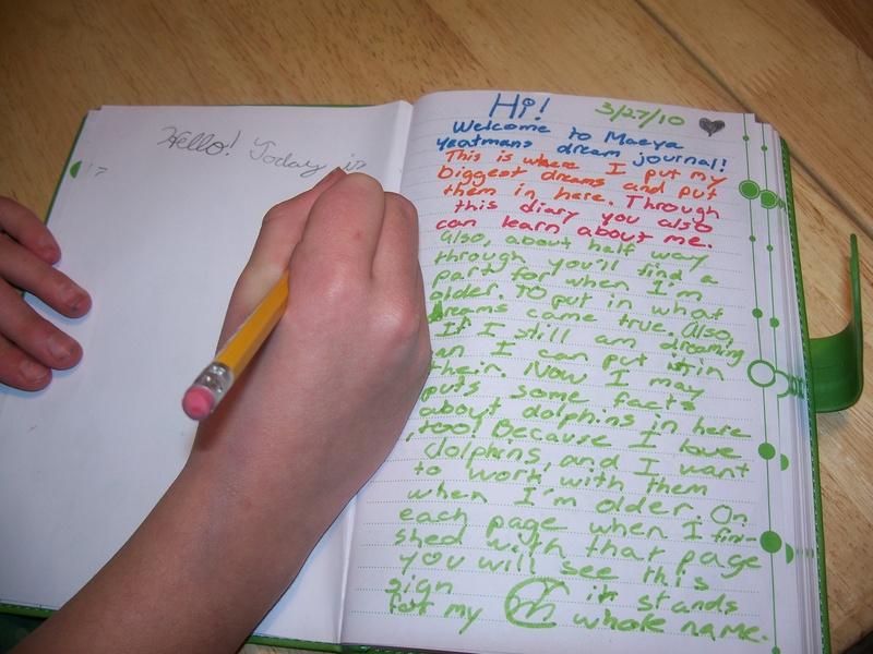 Creative Writing with kids
